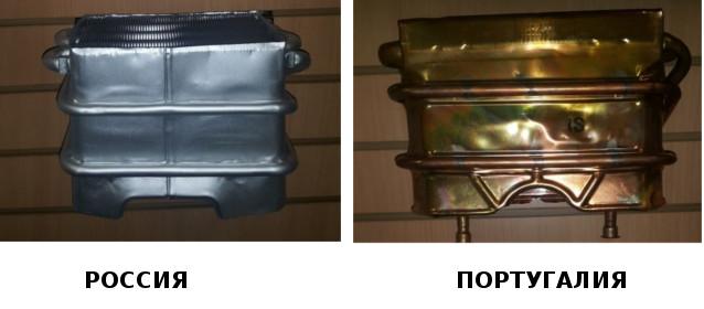 Теплообменник для колонки Bosch WR-13 P\B\G и Junkers WR-13 P\B\G